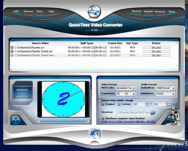 A-Z QuickTime Video Converter Crack With License Key Latest