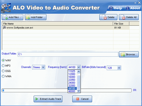 ALO Video to Audio Converter Crack & Activator