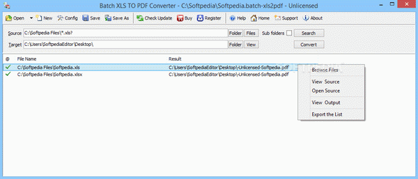 Batch XLS TO PDF Converter Crack With Serial Key