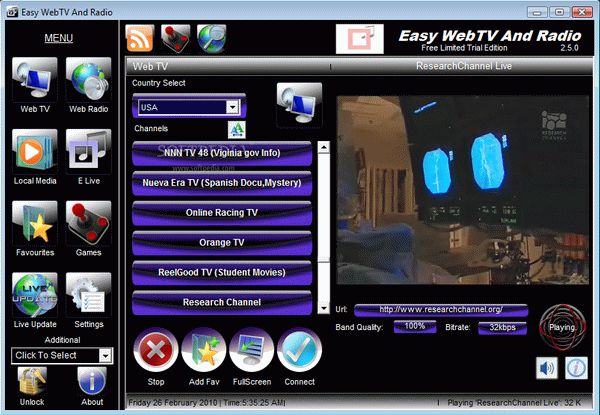 Easy WebTV And Radio Crack With Serial Key Latest