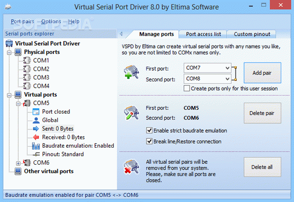 Virtual Serial Port Driver Crack + Activator (Updated)