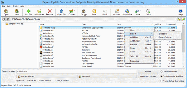 Express Zip File Compression Software Crack + License Key Download