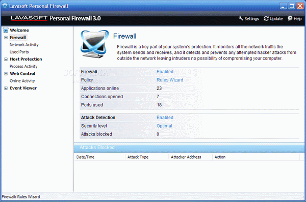 Lavasoft Personal Firewall Crack + Serial Key Updated