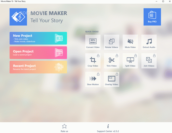 Movie Maker 10 - Tell Your Story Crack Plus License Key