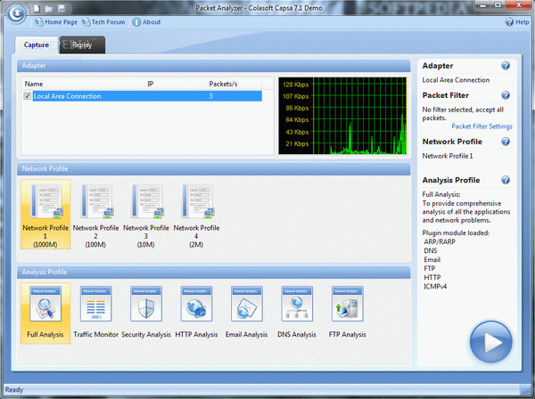 Network Packet Analyzer CAPSA Crack + Serial Number Updated
