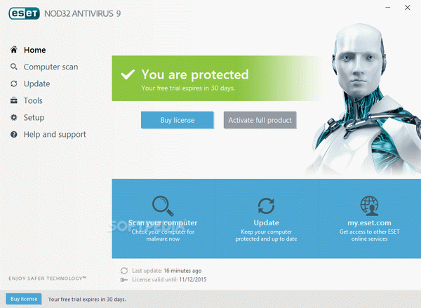ESET NOD32 Antivirus Crack With Serial Number Latest