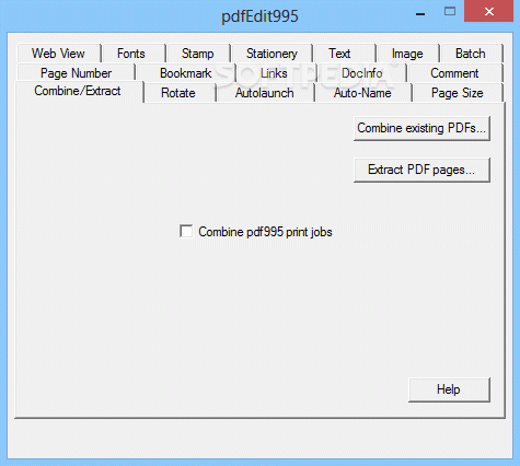 pdfEdit995 Crack Plus Serial Key