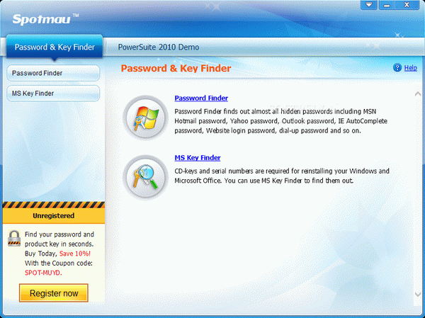 Spotmau Password & Key Finder Activator Full Version