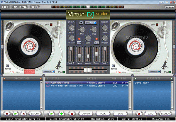 Virtual DJ Station Crack + Serial Number Download 2020