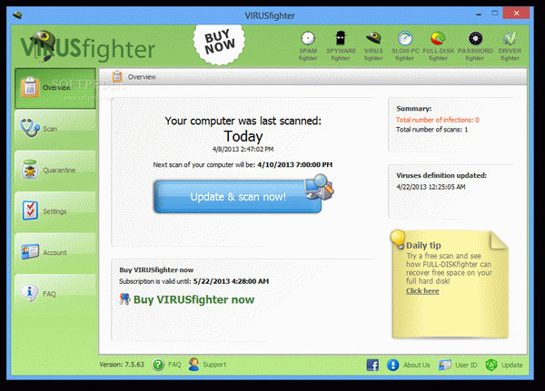 VIRUSfighter Crack With Activator Latest
