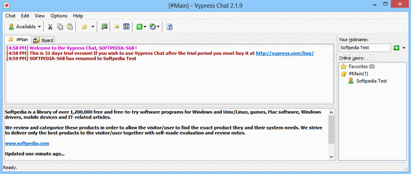 Vypress Chat Crack Plus Serial Key