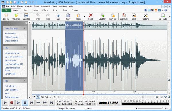 WavePad Audio and Music Editor Crack With Serial Number