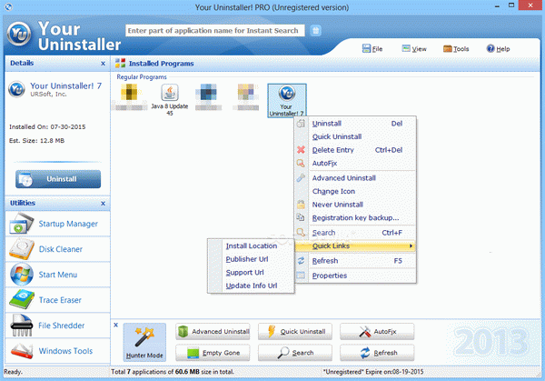 Your Uninstaller! PRO Crack With Serial Number 2020
