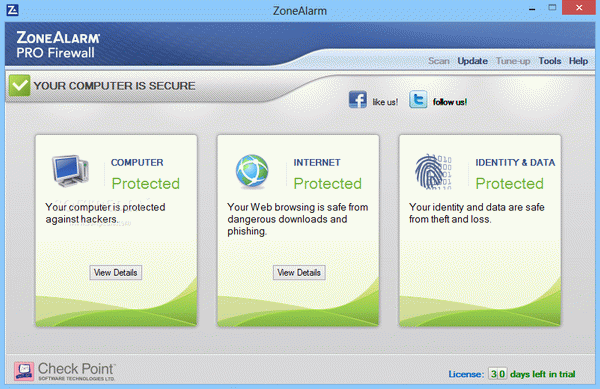 ZoneAlarm Pro Firewall Serial Key Full Version